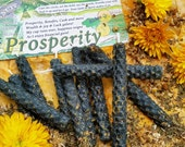 Prosperity Loaded and Dressed Beeswax Chime Candle for Meditation, Ritual or Spellwork