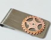 Bike Gear Money Clip BMX Cycling Bicycle - ACMONY04
