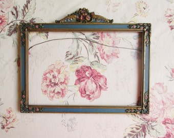 antique shabby chic french barbola picture frame
