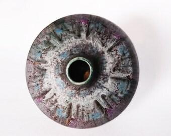 Mid Century  Rare  fat Lava Vase - Ruscha 60s