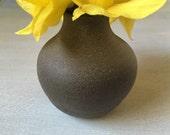 Contemporary Bud Vase, Pottery Vase, Rustic Pottery Vase, Handmade Ceramics, Bud Vase, Modern Rustic Decor