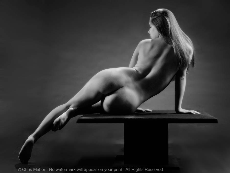 Naked female art