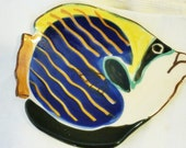 Vintage Angel Fish Jewelry or Soap Dish