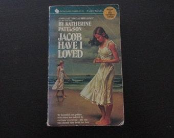 Vintage Paperback Book Jacob Have I Loved by Katherine Paterson
