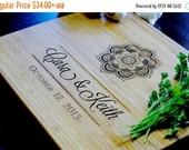 10% OFF THRU FEB Personalized Cutting Board Engraved Custom - Wood Cutting Board - Wedding Gift, Housewarming Gift, Anniversary Gift - Perso