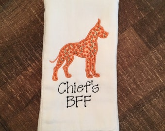 Great Dane Burp Cloth