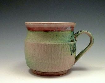 Green Red Holiday Mug
