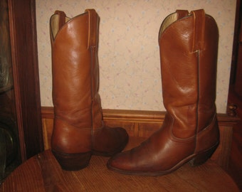 FRYE  Since 1863    Cowboy  Boots      Made In USA    Mens  10  D