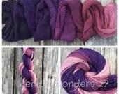 Hand Dyed Yarn, Gradient Yarn, Fingering Weight Yarn