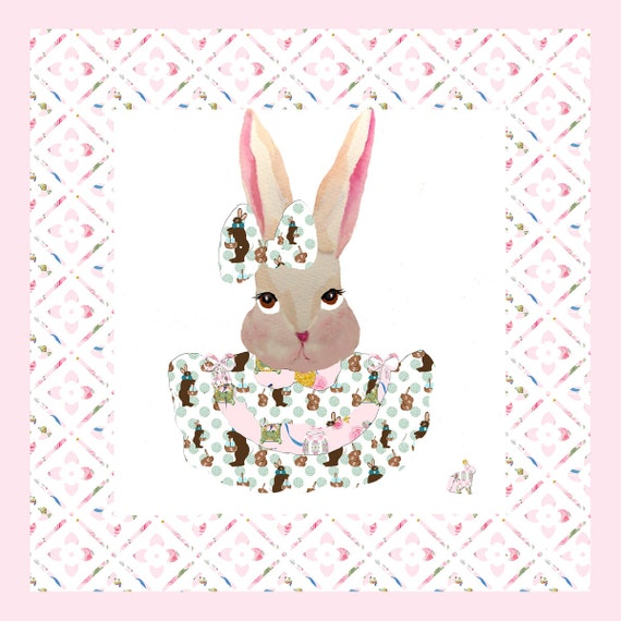 fabric,  Easter Bunny