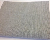 Dove Gray tiny texture, Wool Fabric for Rug Hooking and Appliqué, One yard, Half Yard, Quarter Yard, W137