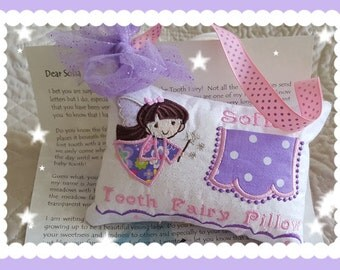 Juniper Elfspider  - Tooth Fairy Pillow