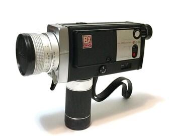 Vintage MINOLTA Autopak 8 / S6, 6X Zoom, c1970, Rokkor lens, with leather case and Weston Master III light meter