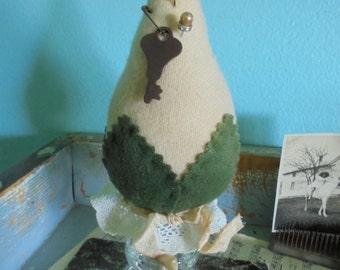 Handmade repurposed upcycled pincushion