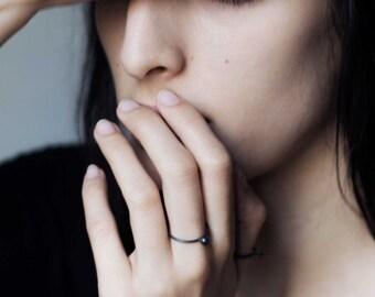 Minimal silver ring // simple ring // modern design ring // SM003