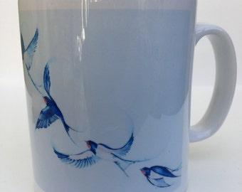 Blue Birds Ascension  10oz ceramic mug