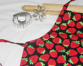 Strawberries Child Apron