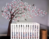Nursery Wall Decal Wall Sticker Art Deco - Romantic Cherry Blossom Tree