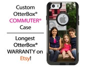 iPhone OtterBox Commuter Case for iPhone 6/6s, 6 Plus/6s Plus, 5/5s, 5c, 4/4s, Galaxy S6 S5 S4 Note 5 4 Custom Photo Image Logo Phone Case