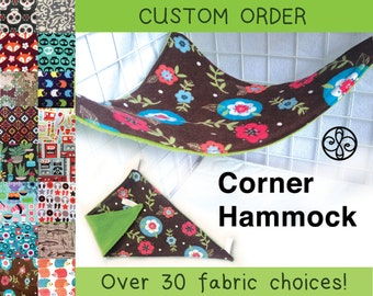 CUSTOM ORDER Reversible Corner Hammock