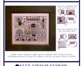 Blue Ribbon Designs: Sweet Songs of Spring - Cross Stitch Pattern