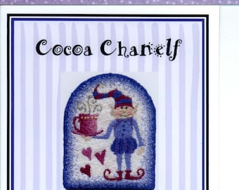 Teresa Layman Designs: Cocoa Chanelf - a Miniature Knotwork Kit