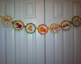 Fall Mixture Word Banner
