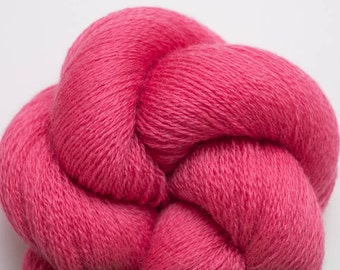 Bittersweet Rose Recycled Extra Fine Grade Lace Weight Merino Yarn, EFM00040