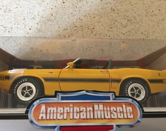 1969 Shelby GT-500 Ertl American Muscle Car Collectors Edition 1/18 Scale Mustang