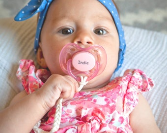 Personalized gifts baby girl pacifiers baby shower personalized pacifier pacidoodle pacifiers baby girl personalized pacifiers monogram pacifier personalized baby girl gift pacifier clip negle Images