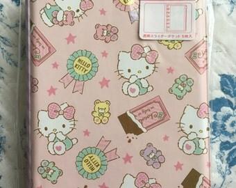 NEW 5 ziplock pocket album Sanrio Hello Kitty