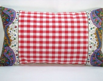 Pierre Deux Lumbar Pillow French Pillow French Country Pillow  French Pillow 14x20 Cover Only