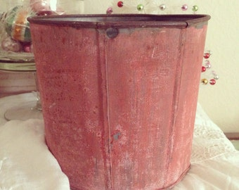 Sweet Old Chippy Pail Bucket