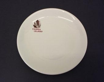 Vintage Shenango China 'Trader Island' Dinner Plate (E7523)