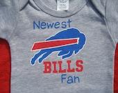 Buffalo BILLS Football Onesie, Football with Daddy, Sunday Funday, I Love Football,Football Season,Newest Football Fan,Baby Shower Gift