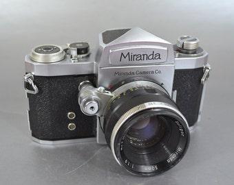 Vintage Miranda Camera manufactured by the Miranda Camera Company