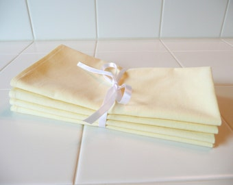 CLEARANCE Organic Cotton Napkins, Set of 4