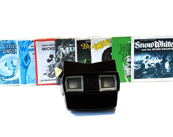 View Master Instant Collection w/View Master 16 sets of Reels & Case