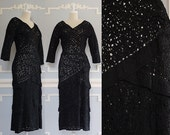 50s Dress --> Crochet Dress --> Ribbon Dress --> 1950s Cocktail Dress --> 1950s Vintage Sheath Dress --> Black Dress --> Crocheted Dress
