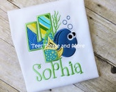 Dory Inspired Birthday T-shirt Personalized