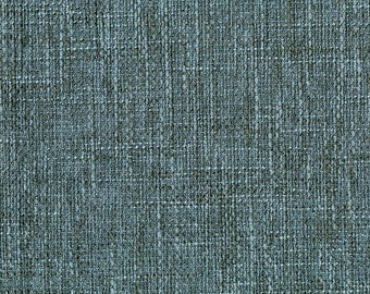New Multi Dimensional Upholstery Fabric - Melds together texture with the look of linen - Extremely Durable - Color: Alice Blue- Per yard