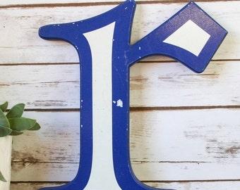 Original Vintage shop letter R, lowercase