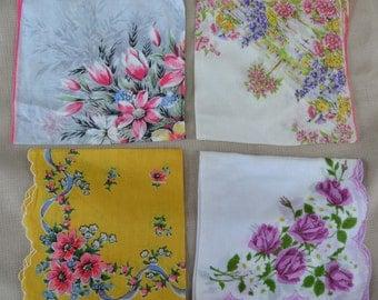 Floral Vintage Hankies