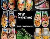 Custom Vans Converse Shoes All Designs