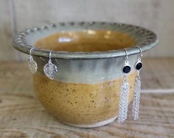 Goldenrod Jewelry Bowl