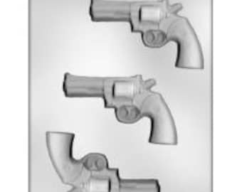 Gun Pistol Chocolate Mold Soap Candy Mould m239