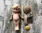 Vintage Bisque Doll Frozen Doll Frozen Charlotte