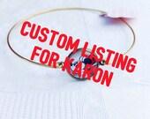 Custom listing for Karon