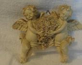 Vintage cherubs decor