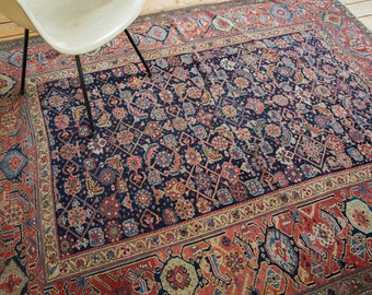 DISCOUNTED 6x7 Fine Colorful Antique Northwest Persian Rug